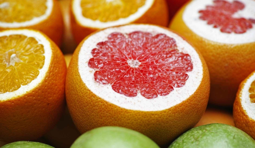 citrus fruits close up food fresh